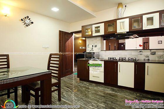 Kitchen modular interior