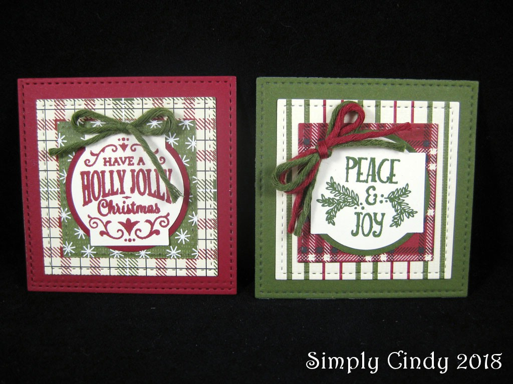 Sisters in Stamping: Gift Tags for Everyone