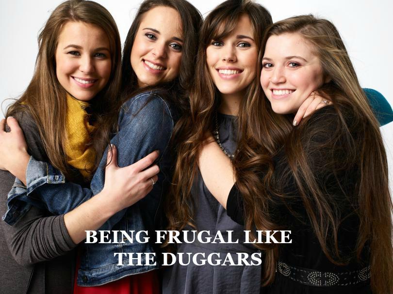 duggar girls frugal living