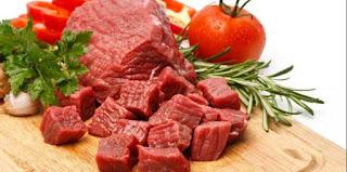 manfaat daging merah