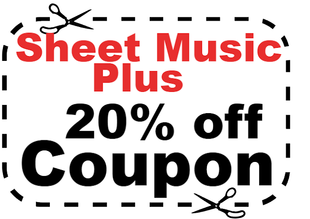 Sheet Music Plus Coupon Codes 2017-2018, SheetMusicPlus Discount Code 2017-2018 Jan, Feb, Mar, April
