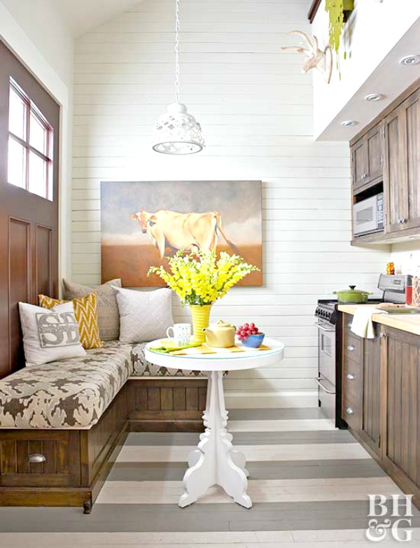 Clever Ideas For Small Homes: Part I