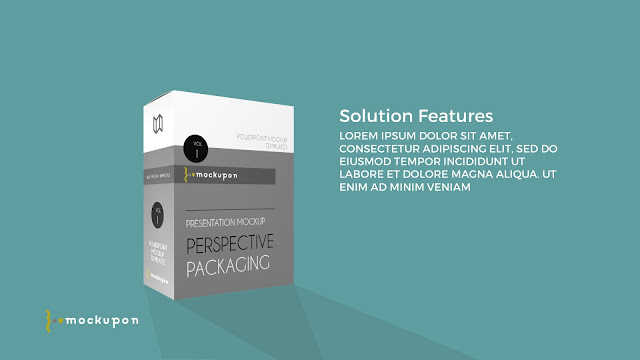 Packaging Box Mockup Powerpoint Templates Slide1