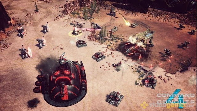 Command and Conquer 4 Tiberian Twilight Free Download Screenshot 1