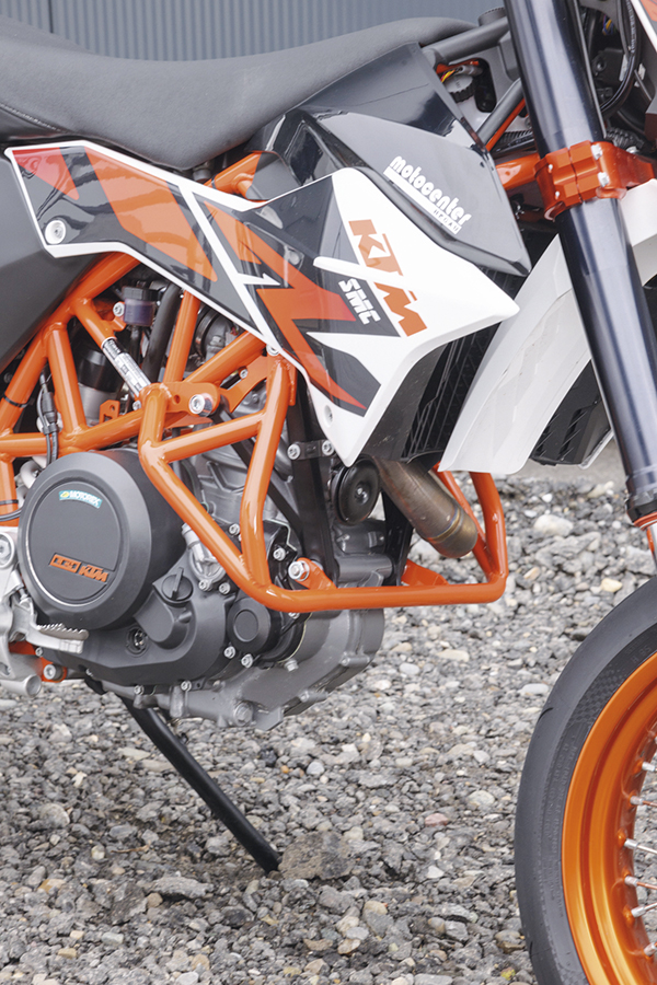 a4914e5f Seen here for KTM models, their crash protection cages deliver important  protection both off and on-road. Manufactured in high quality stainless  steel, ...