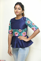 Eesha Looks super cute stunning in Denim Jeans and Top at Darsakudu movie Inerview ~  Exclusive 057.JPG