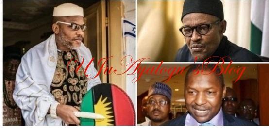 Niger Delta group warns Buhari against arresting Nnamdi Kanu again