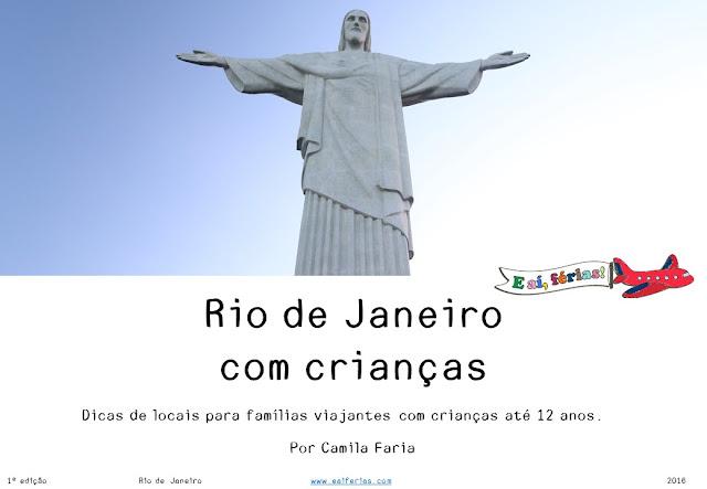 Guia Rio de Janeiro com crianças