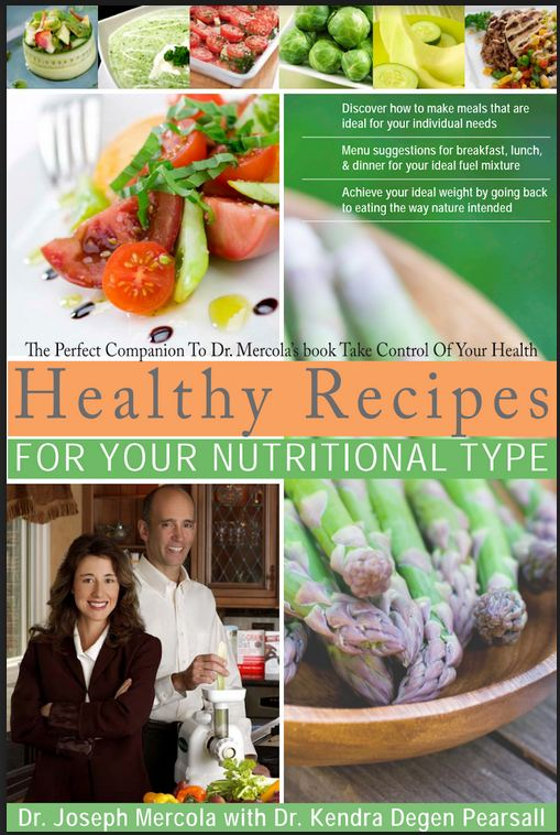 Healthy Recipes For Your Nutritional Type by Dr.Joseph Mercoa with Dr.Kenda Degen Pearsall