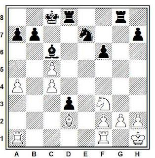 Problema ejercicio de ajedrez número 839: Ruginis - Vardpatrikian (URSS, 1987)
