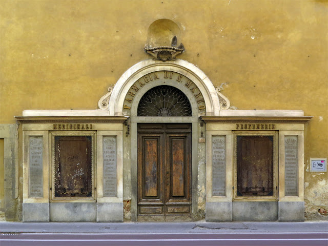 Former Farmacia di San Marco, St Mark Pharmacy, Via Cavour, Florence