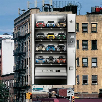 Clever and Creative MINI Cooper Advertisements (20) 8