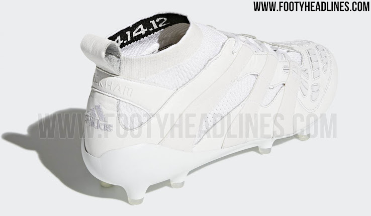 482f085ed7c9 Adidas Predator Accelerator David Beckham FG - Triple White. +1. 1 of 2. 2  of 2