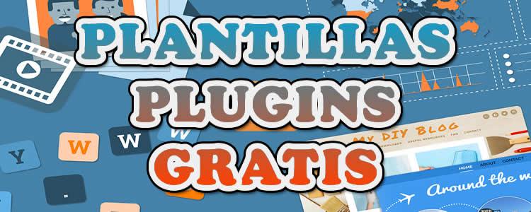 Plantillas, plugins gratis para wordpress y blogger