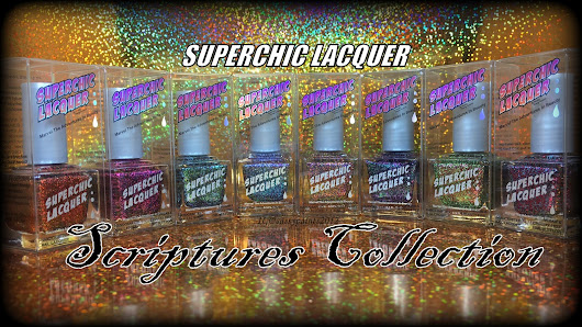 Superchic Lacquer: Scriptures Collection Swatches
