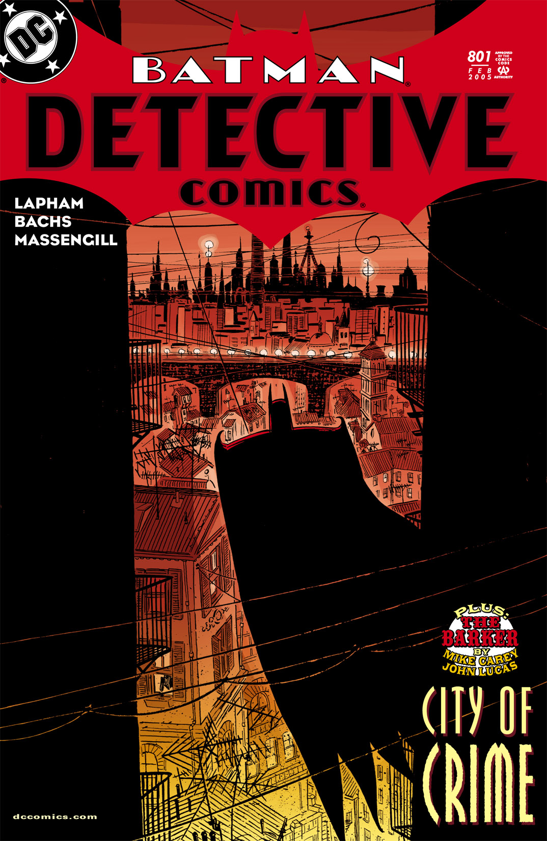 Detective Comics (1937) 801 Page 0