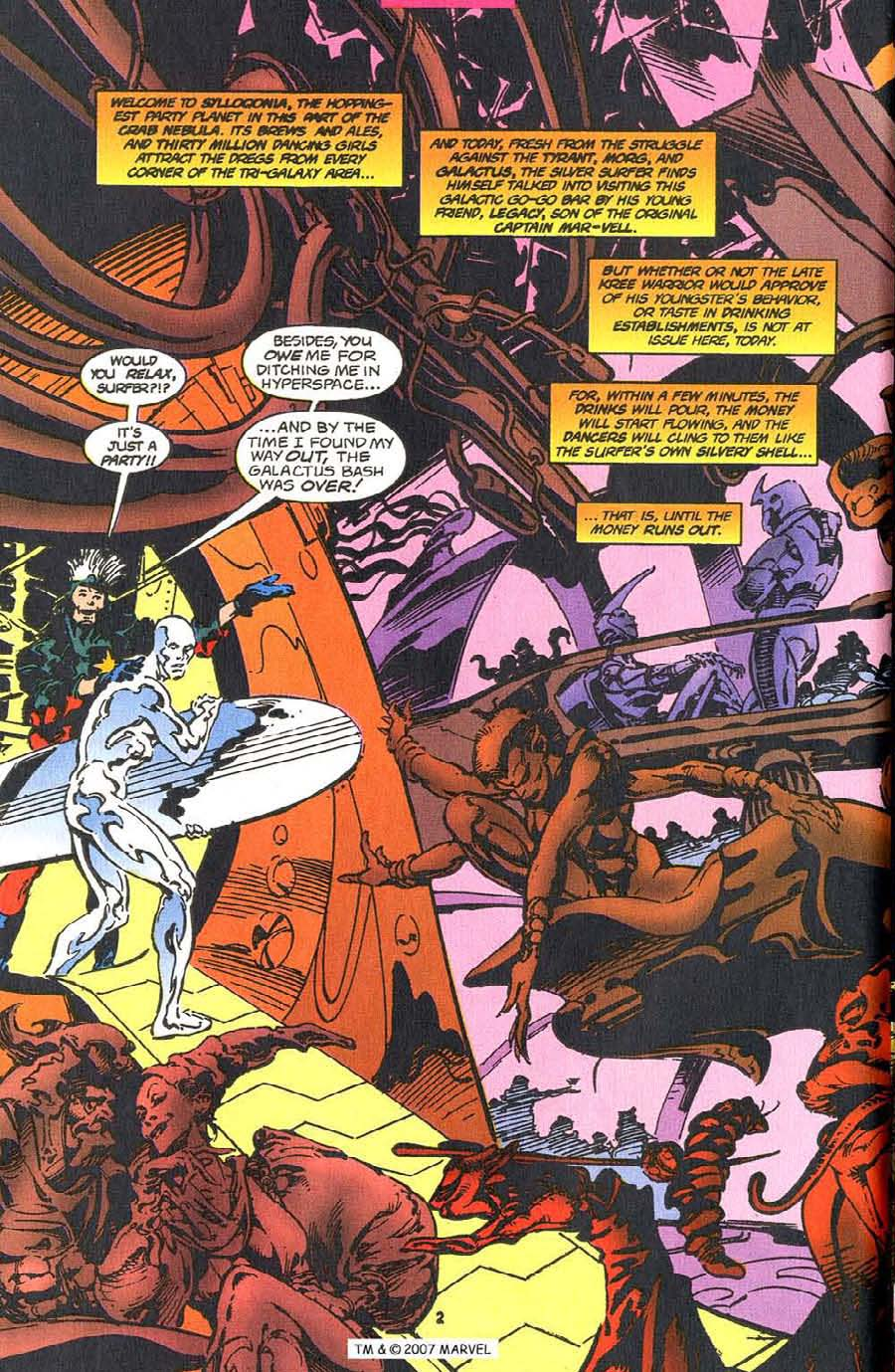 Read online Silver Surfer (1987) comic -  Issue #110 - 4
