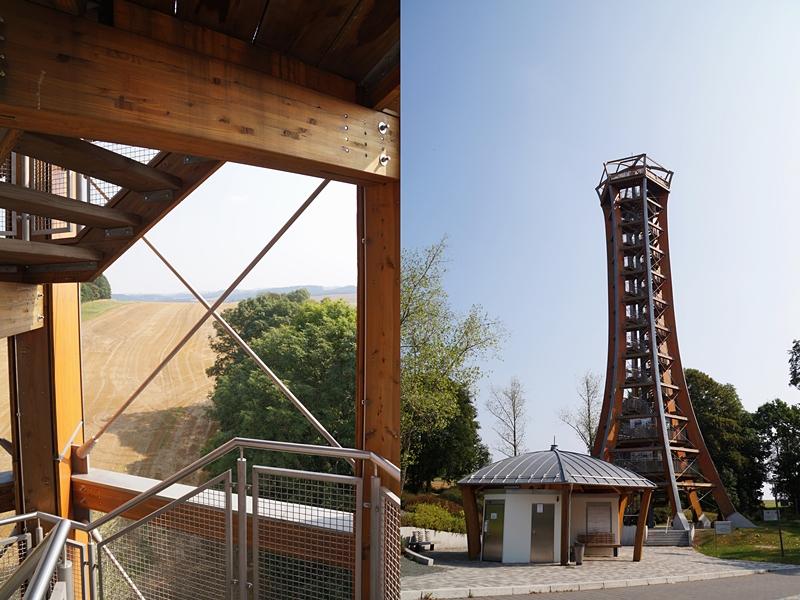 Saaleturm in Burgk, Thüringen