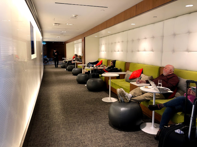 Review of the Centurion Lounge at La Guardia Airport in New York City