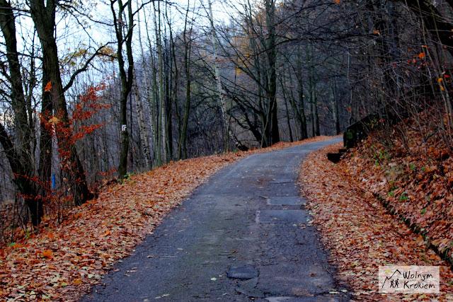 złota Polska jesień w górach