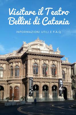 visitare il teatro bellini di Catania con la guida