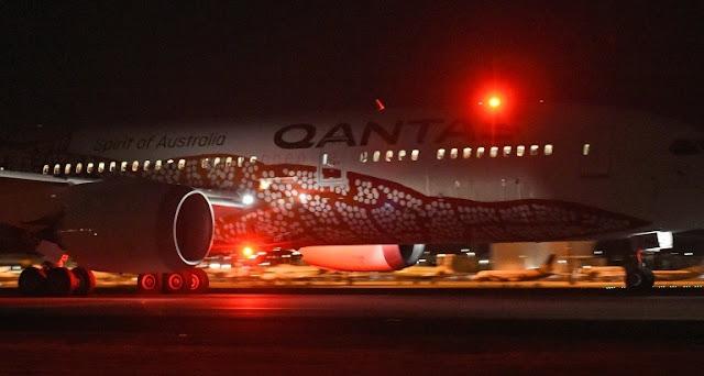 First direct Australia-Europe passenger service