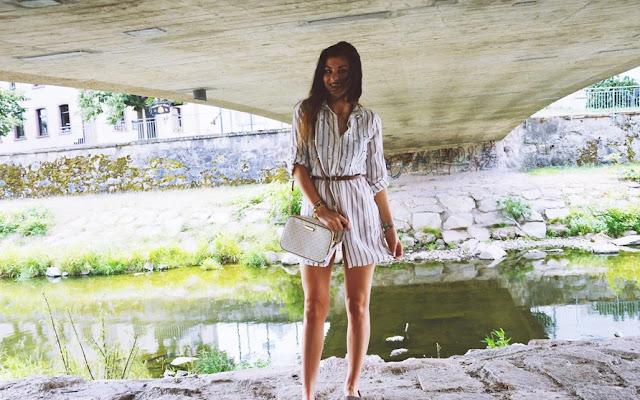 Koszula jako sukienka! Patent na letnią stylizację!  - Czytaj więcej »