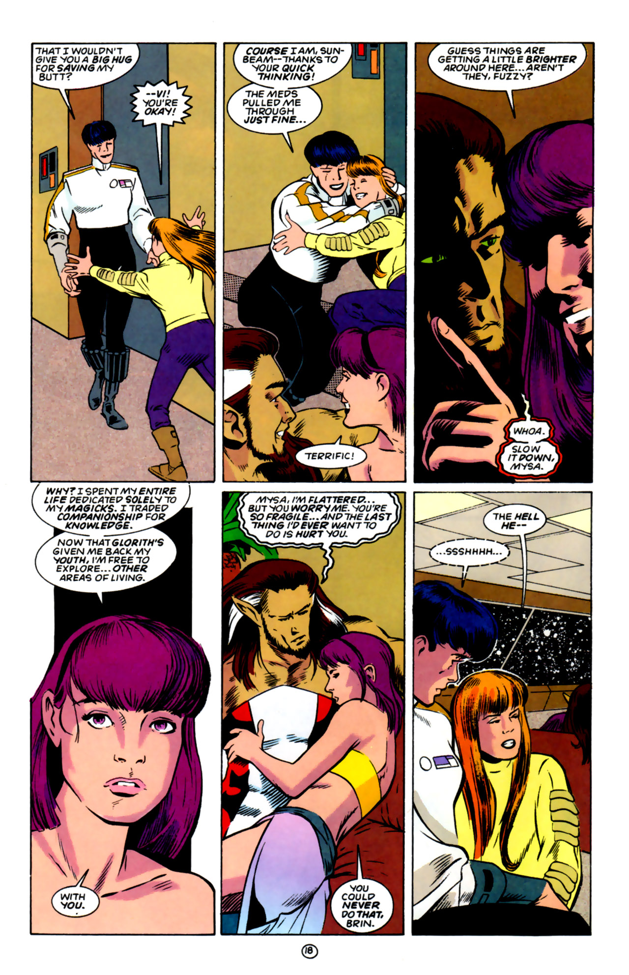 Legion of Super-Heroes (1989) 59 Page 18
