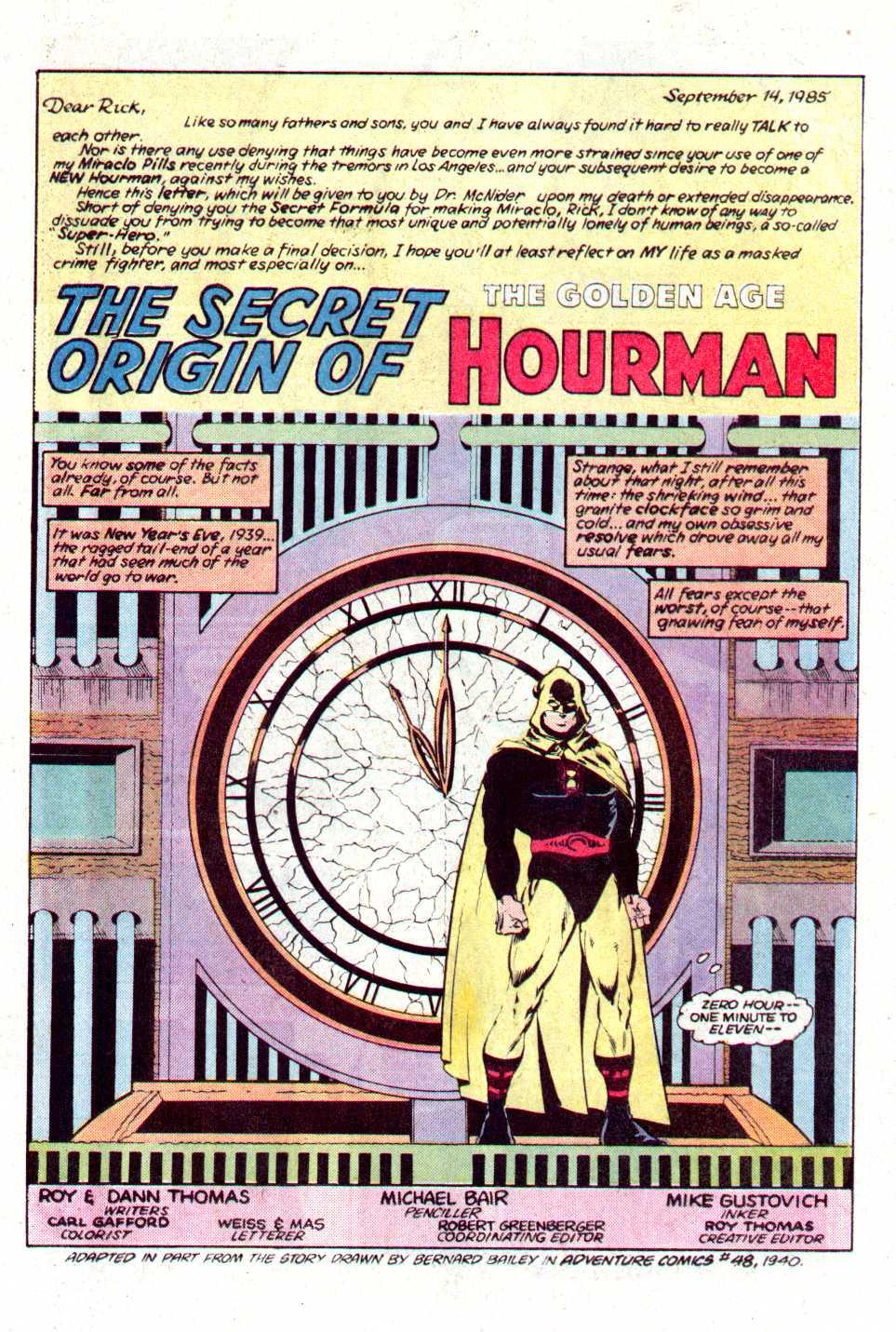 Read online Secret Origins (1986) comic -  Issue #16 - 22