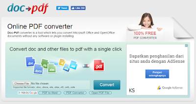 Cara Convert file Word 2007 ke pdf dengan Mudah