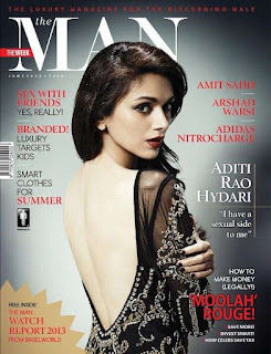 Aditi Rao Hydari's Stylish The Man Magazine Photoshoot