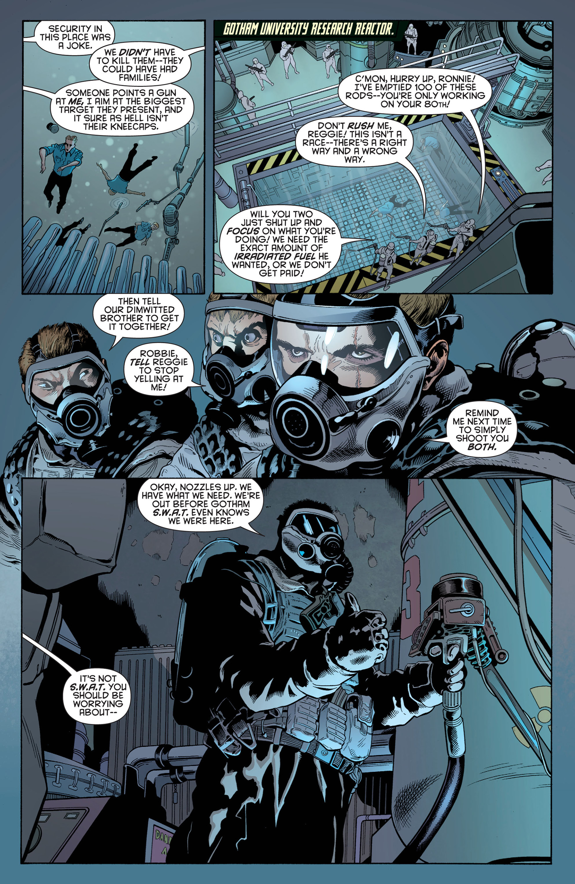 Read online Batman and Robin (2011) comic -  Issue #1 - 13