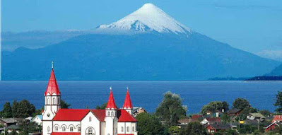 Town of Puerto Varas, South of Chile.