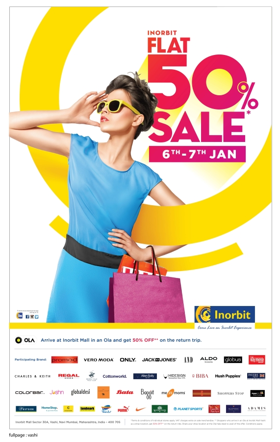 Inorbit Mall, Vashi - End of Season Sale (Flat 50% off)