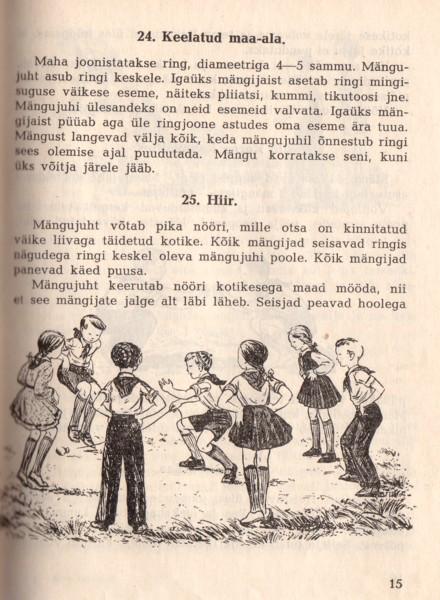 laste mängud õues