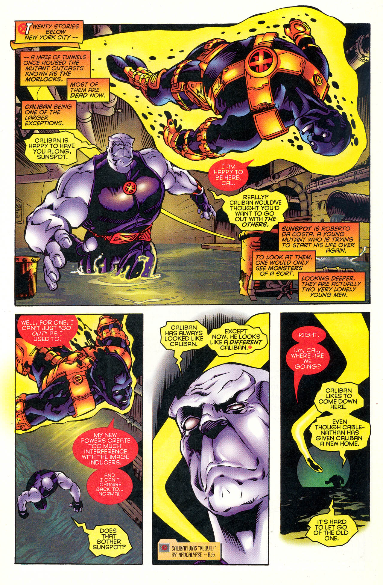 Read online X-Force (1991) comic -  Issue #49 - 11