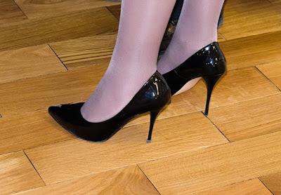 topuklu siyah