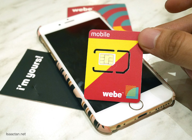 Grab your webe sim card today!