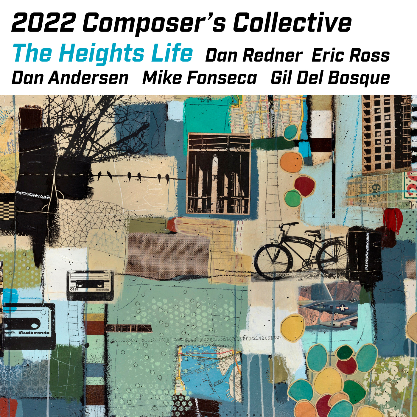 Album Art for 2022 Composer's Collective Upcoming Release
