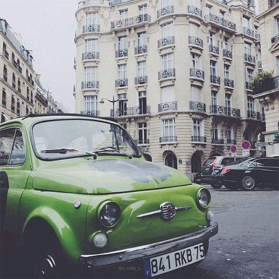 Photography by instagram Fiat 500 vintage