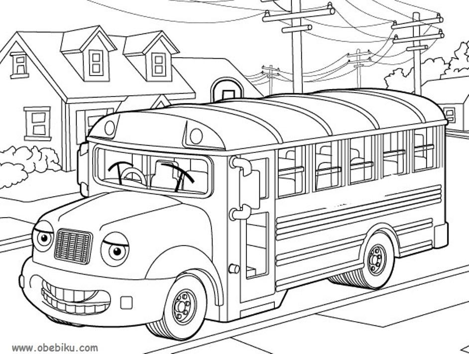 Belajar Mewarnai Gambar Alat Alat Transportasi Obebiku