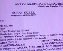 Law Office Muhadjirin, Kristof & Partners: Contoh Surat ...