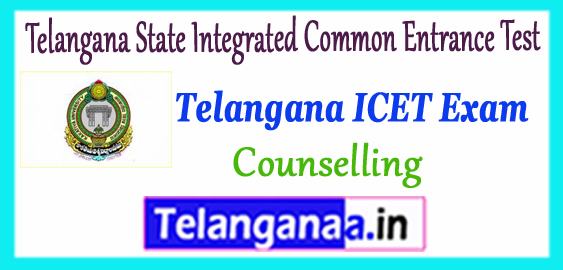 TS ICET  Telangana State Integrated Common Entrance Test Answer Key Result 2018 MBA MCA Counselling