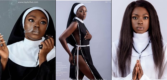 I Received Many Death Threats After The Racy Nun Pictures I Took - Beverly Osu