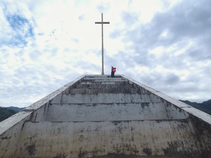 Mapanuepe Lake Sunken Church of Bojaoen