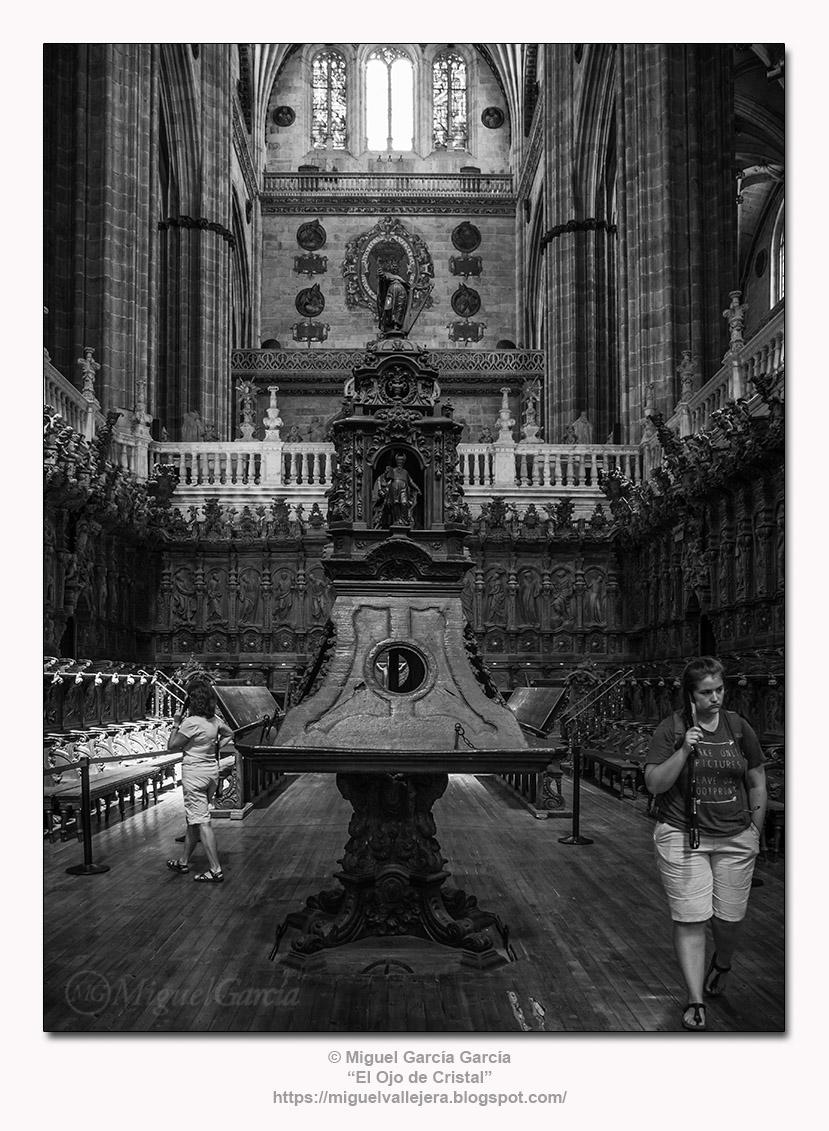 Facistol del coro, Catedral nueva de Salamanca.