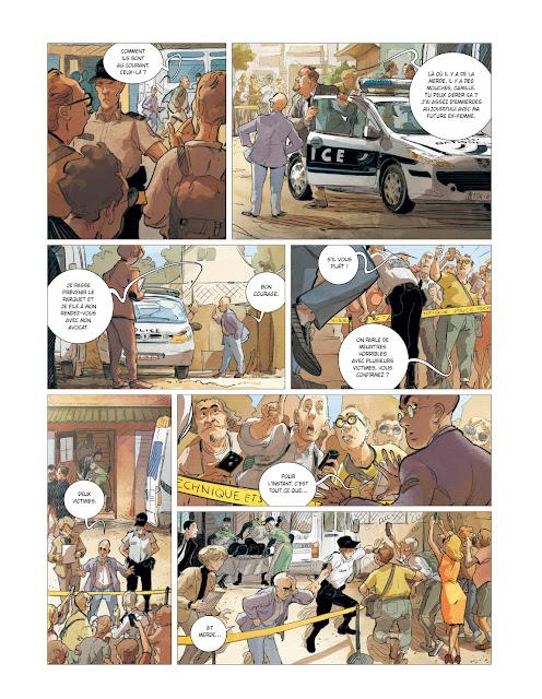 Brigade Verhoeven tome 2 - Irène éditions Rue de Sèvres page 11