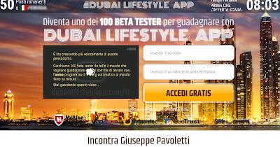 Dubai lifestyle app truffa o funziona il metodo per guadagnare online?