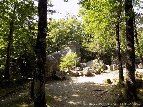 Le roc de l'oie