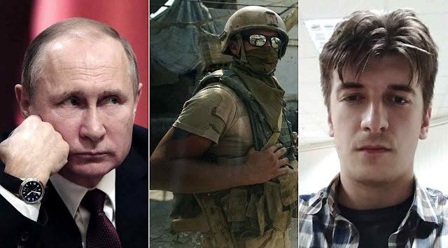 Maxim Borodin (direita) incomodou o Kremlin investigando o 'exército privado de Putin' na Síria. Apareceu morto em circunstâncias reveladoras.
